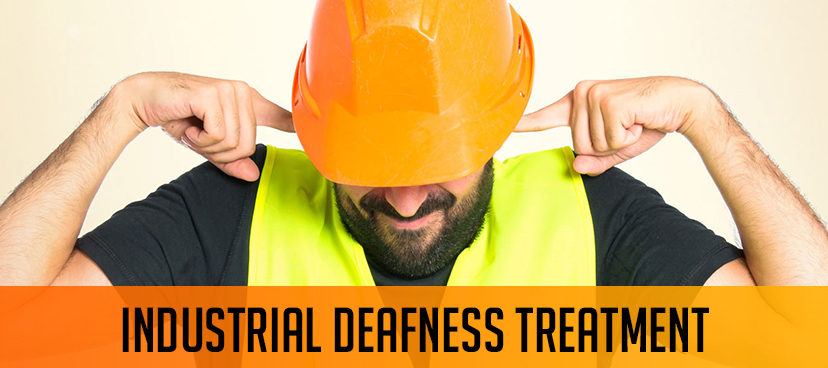Industrial deafness prevention and treatment