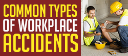 Common types of workplace accidents