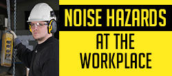 Noise hazards at the workplace