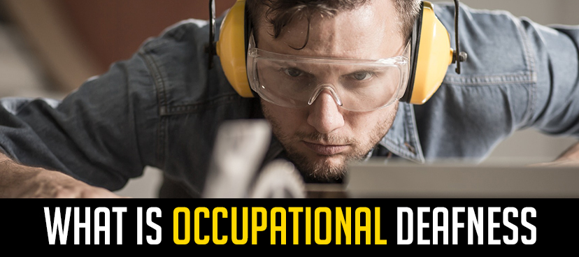 What is occupational deafness?